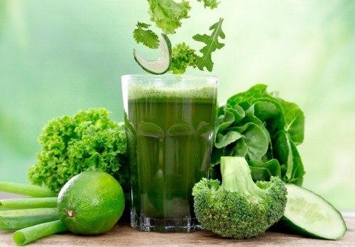 3 jours de cure detox vertes