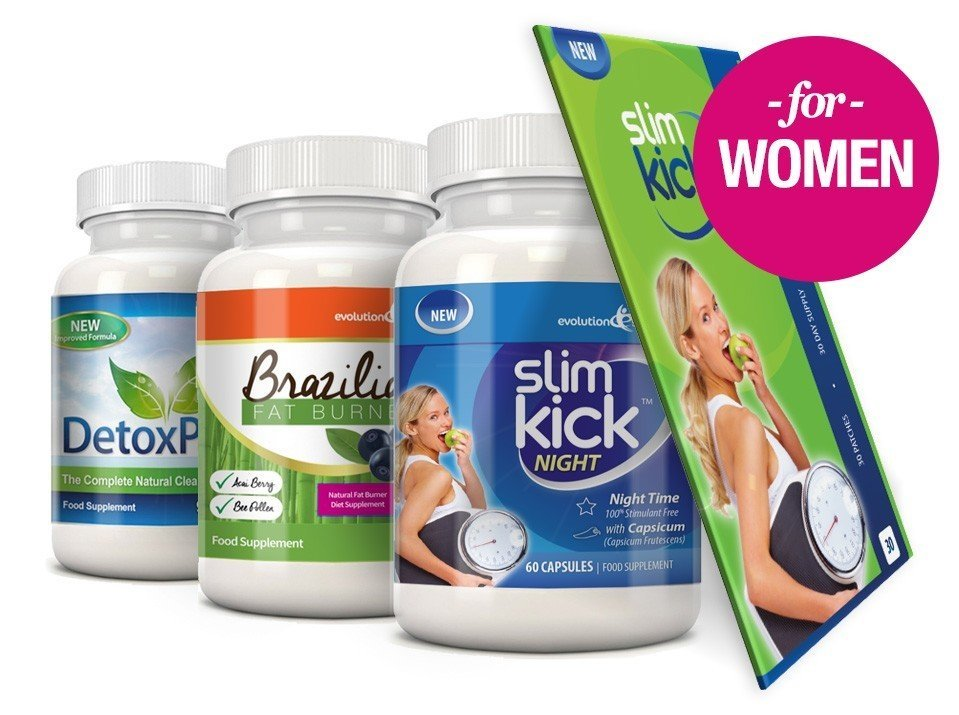 Diet Detox Bundle Evolution Slimming women