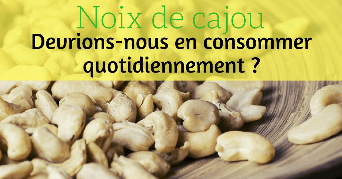 article noix de cajou