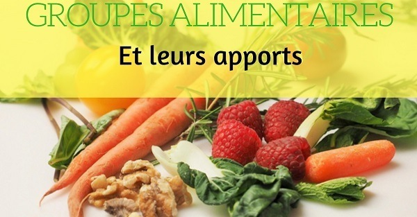 apports des groupes alimentaires