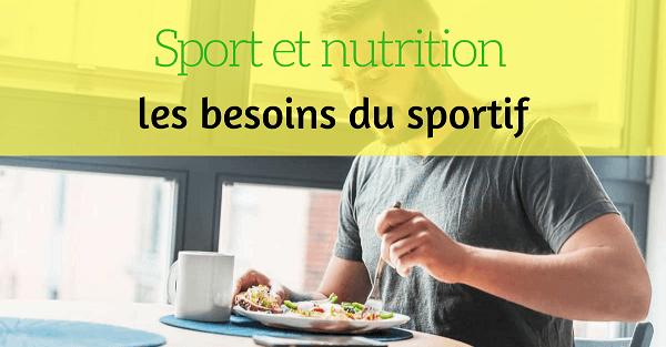 nutrition besoin sportif